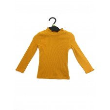 Ex Store Girls Mustard Long Sleeved Top PACK OF 10