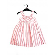 Ex Store Striped Girls Dress PACK OF 6