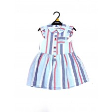 Ex Store Girls Striped Dress PACK OF 10
