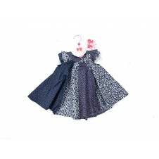 REDUCED PRICE Mini Moi 'Spotted/Heart'  Baby Girls Dress PACK OF 6