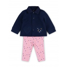 Lily & Jack 'Unicorn' Baby Girls Quilted Jacket, Top and Leggings Set  PACK OF 4