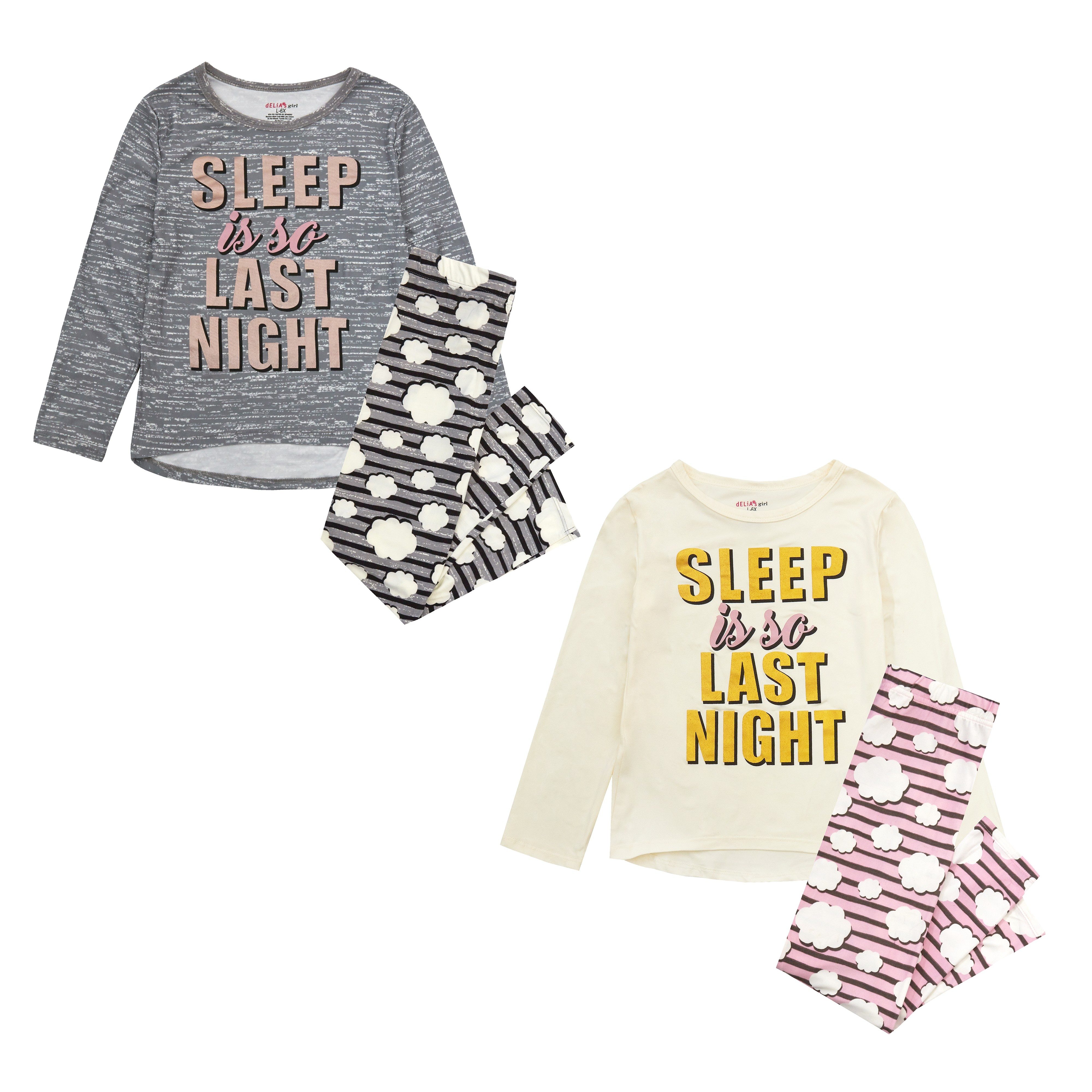 Delia's Girls 'Sleep' Girls Pyjama PACK OF 6