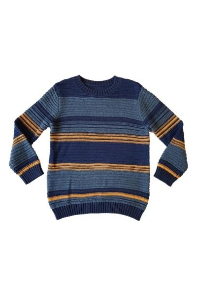 Ex Store Boys Striped Jumper PACK OF 6