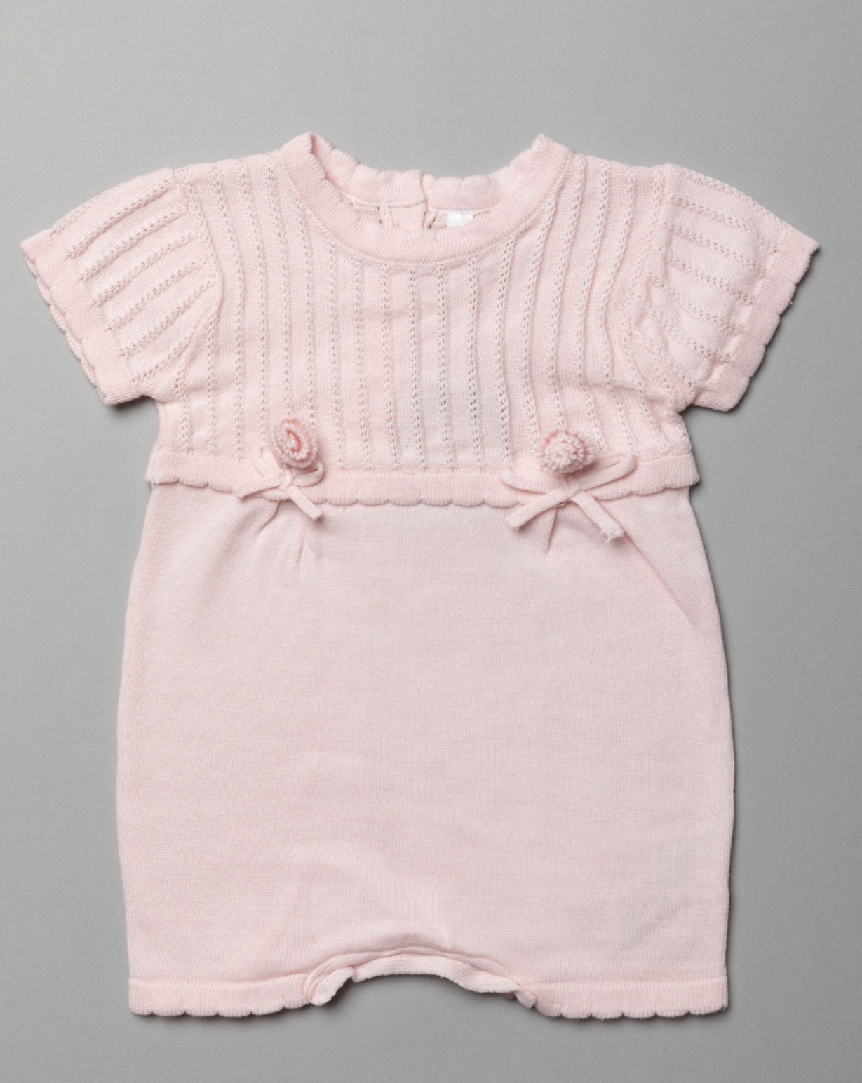 Rock a Bye Baby Boutique Baby Girls Knitted Romper PACK OF 6