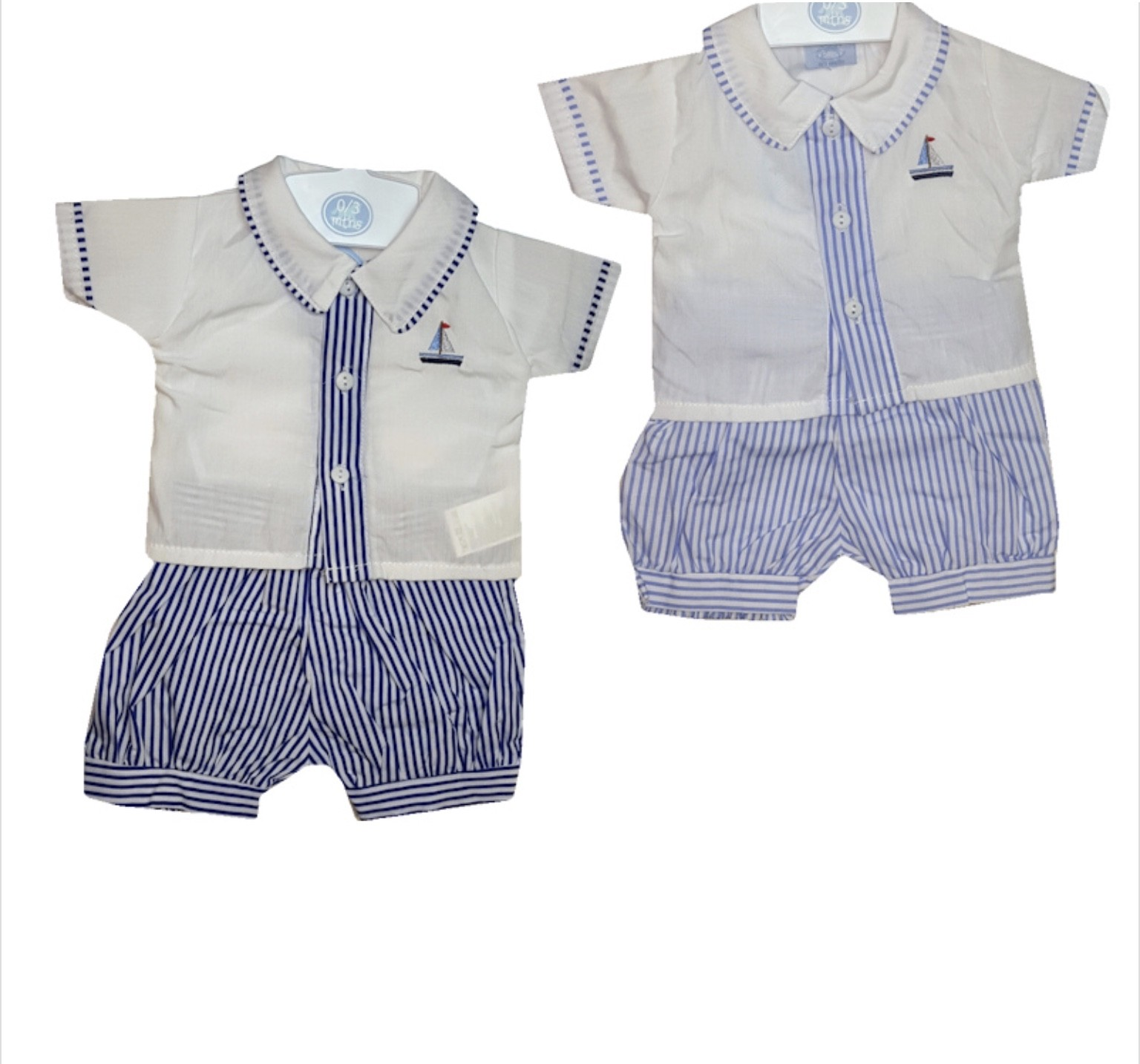 Rock a Bye Baby Baby Boys Shirt and Shorts Set PACK OF 6