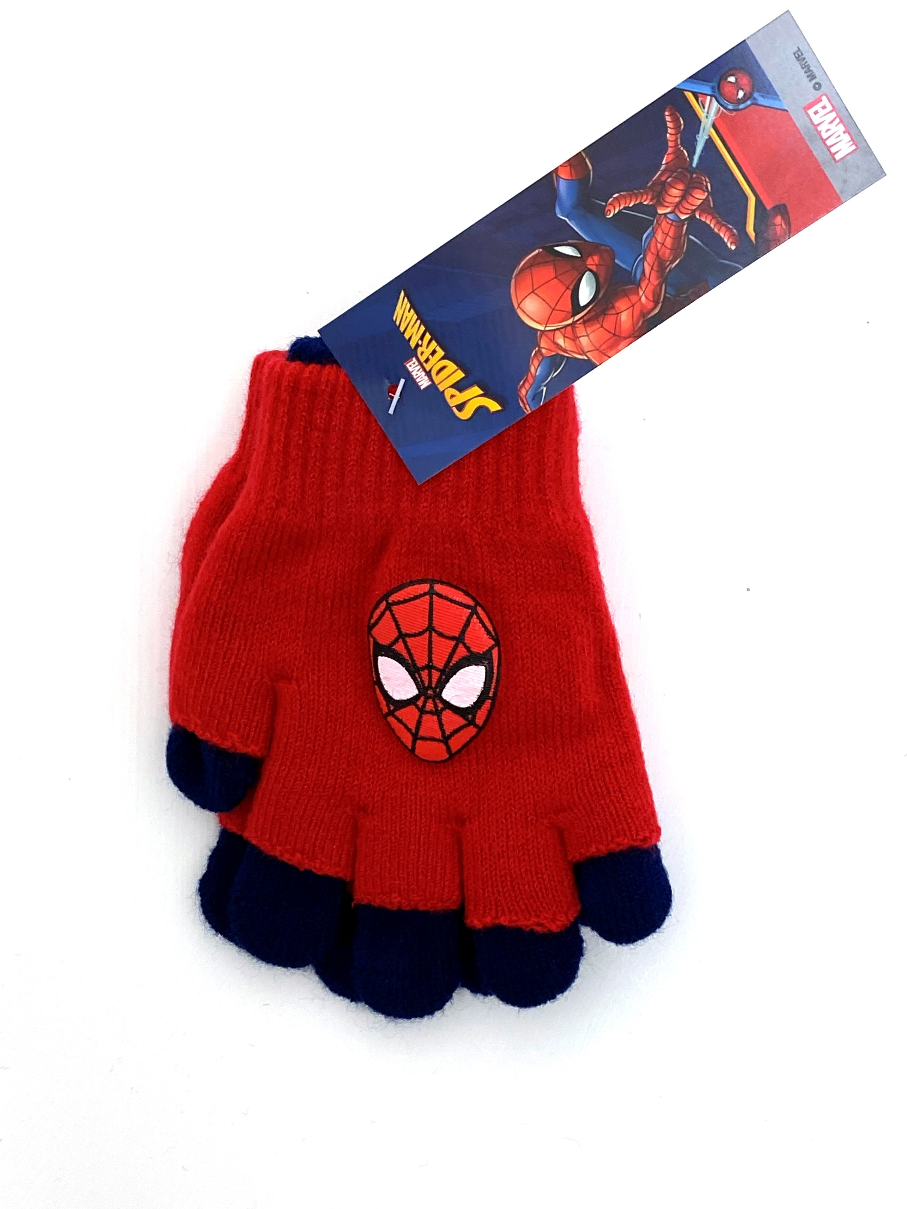 Spider Man Boys 2 In 1 Glove PACK OF 8