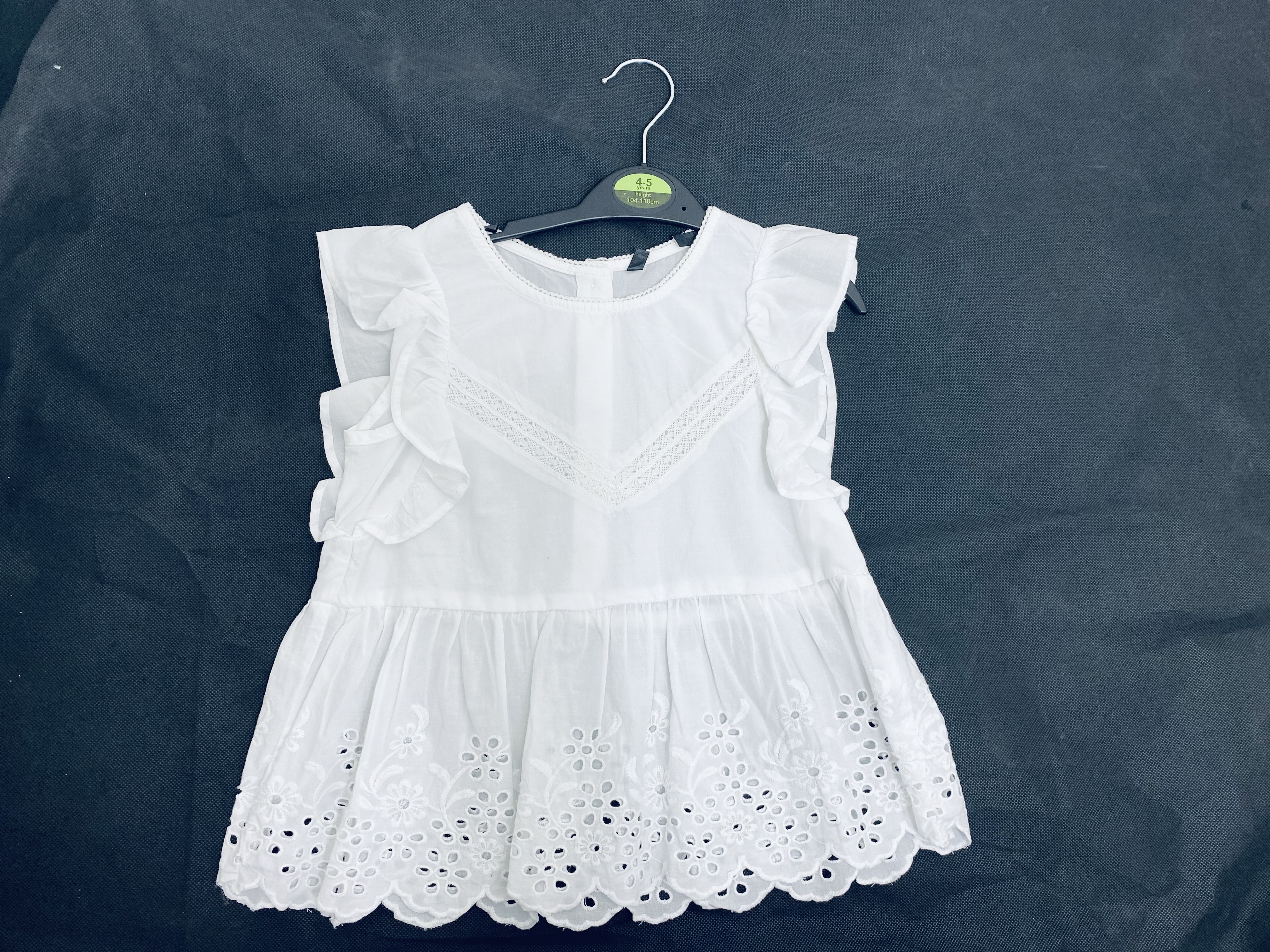 Ex Store Girls White Top PACK OF 10