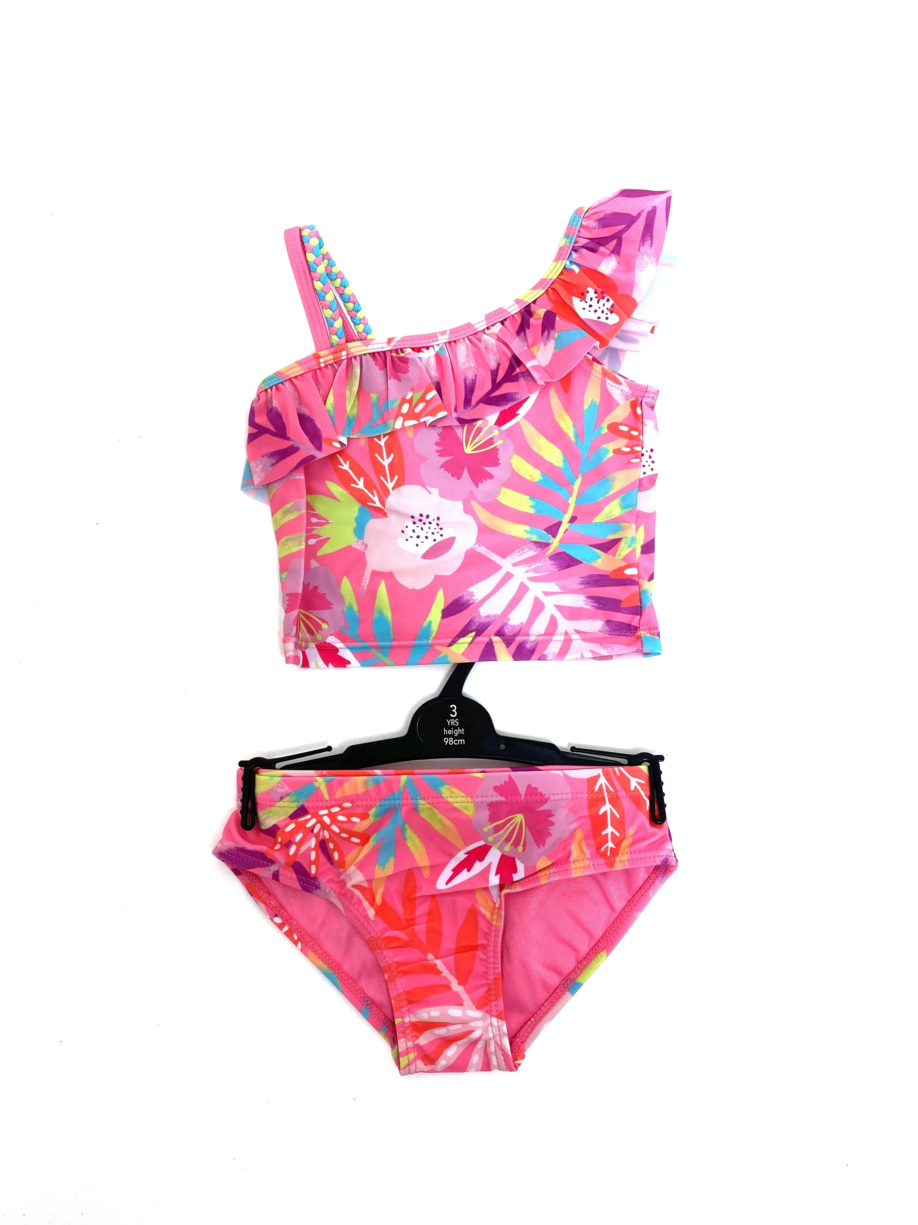 Ex Store Girls 2 Pieces Swimming Costume PACK OF 10