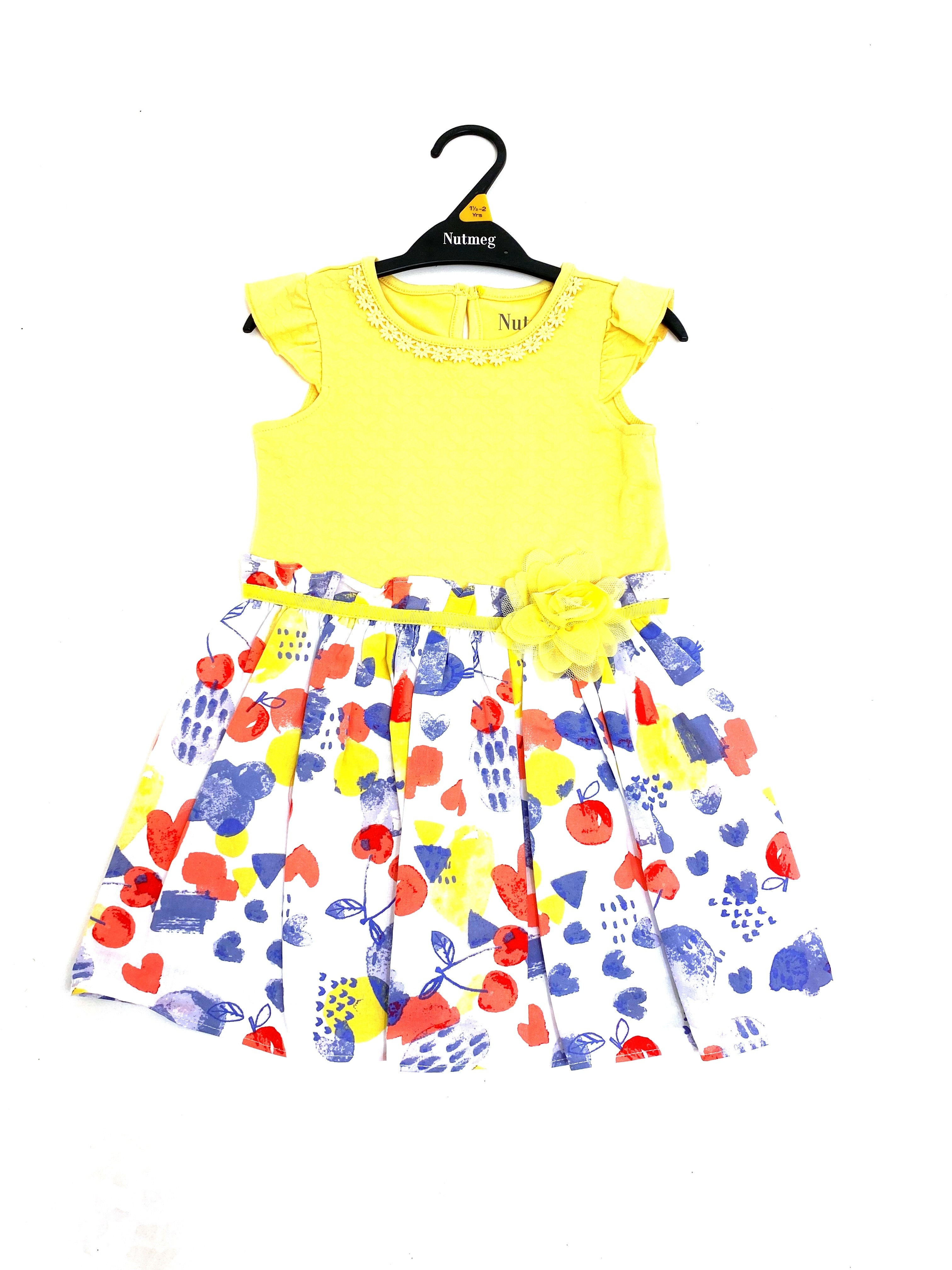 Ex Store 'Floral/Hearts' Girls Dress PACK OF 8