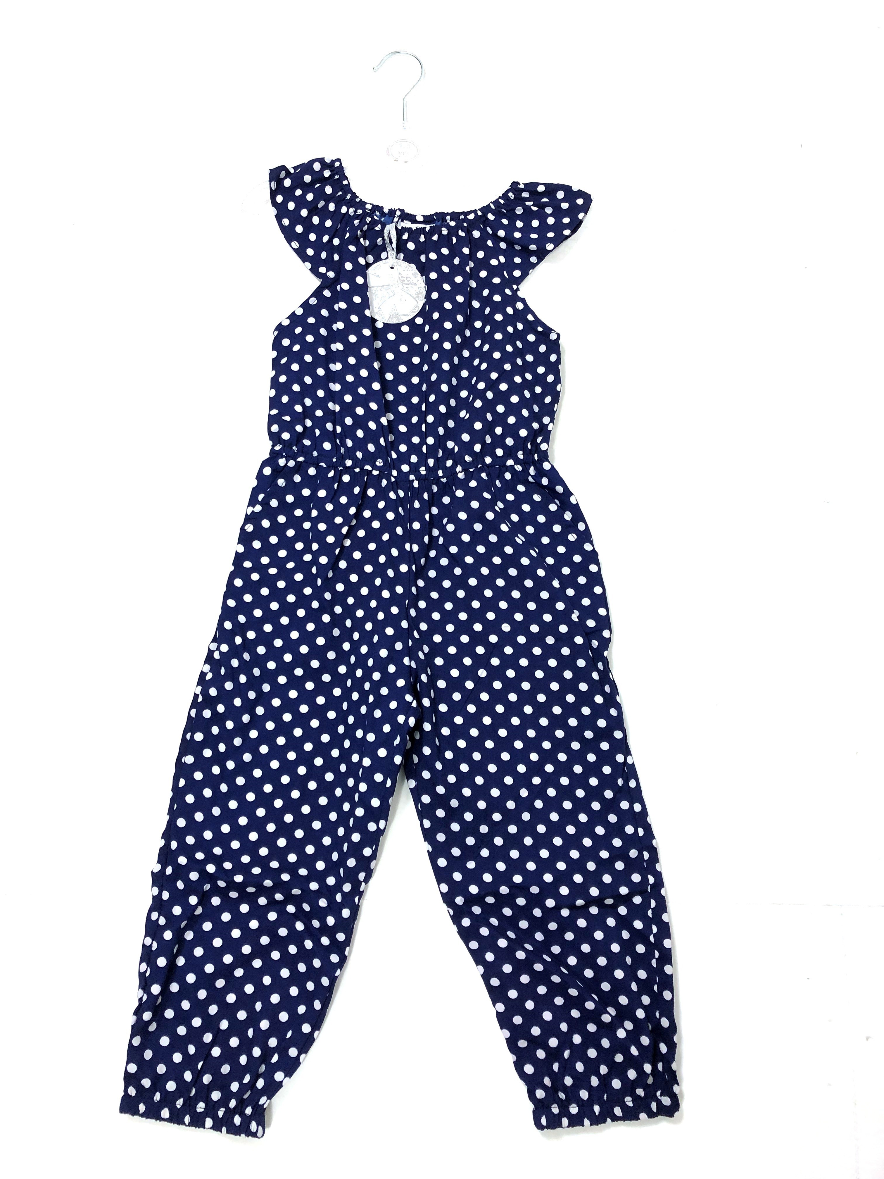 Mini Moi Girls Spotted Jumpsuits PACK OF 6