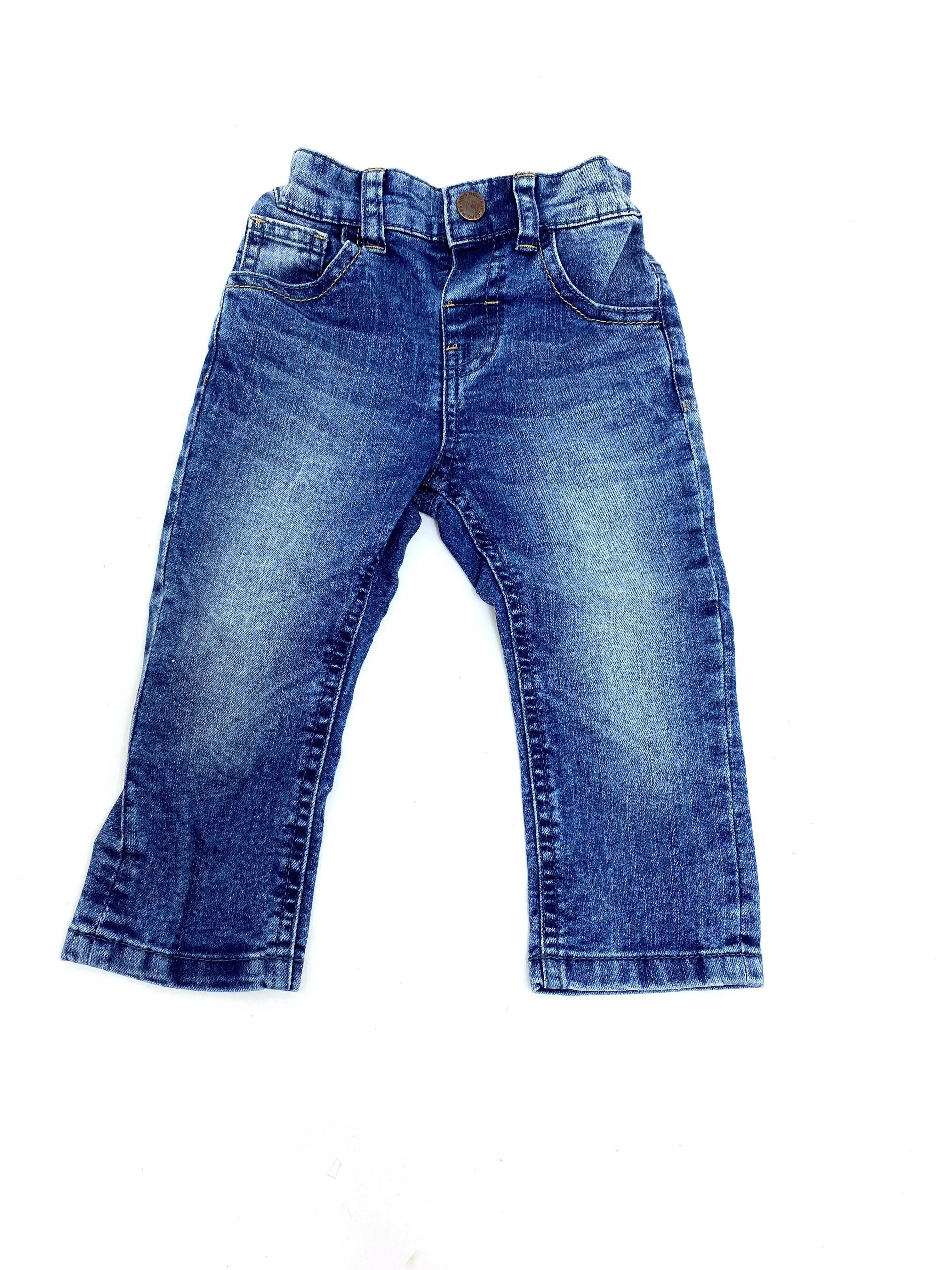 Ex Store Baby Boys Denim Blue Jeans PACK OF 8