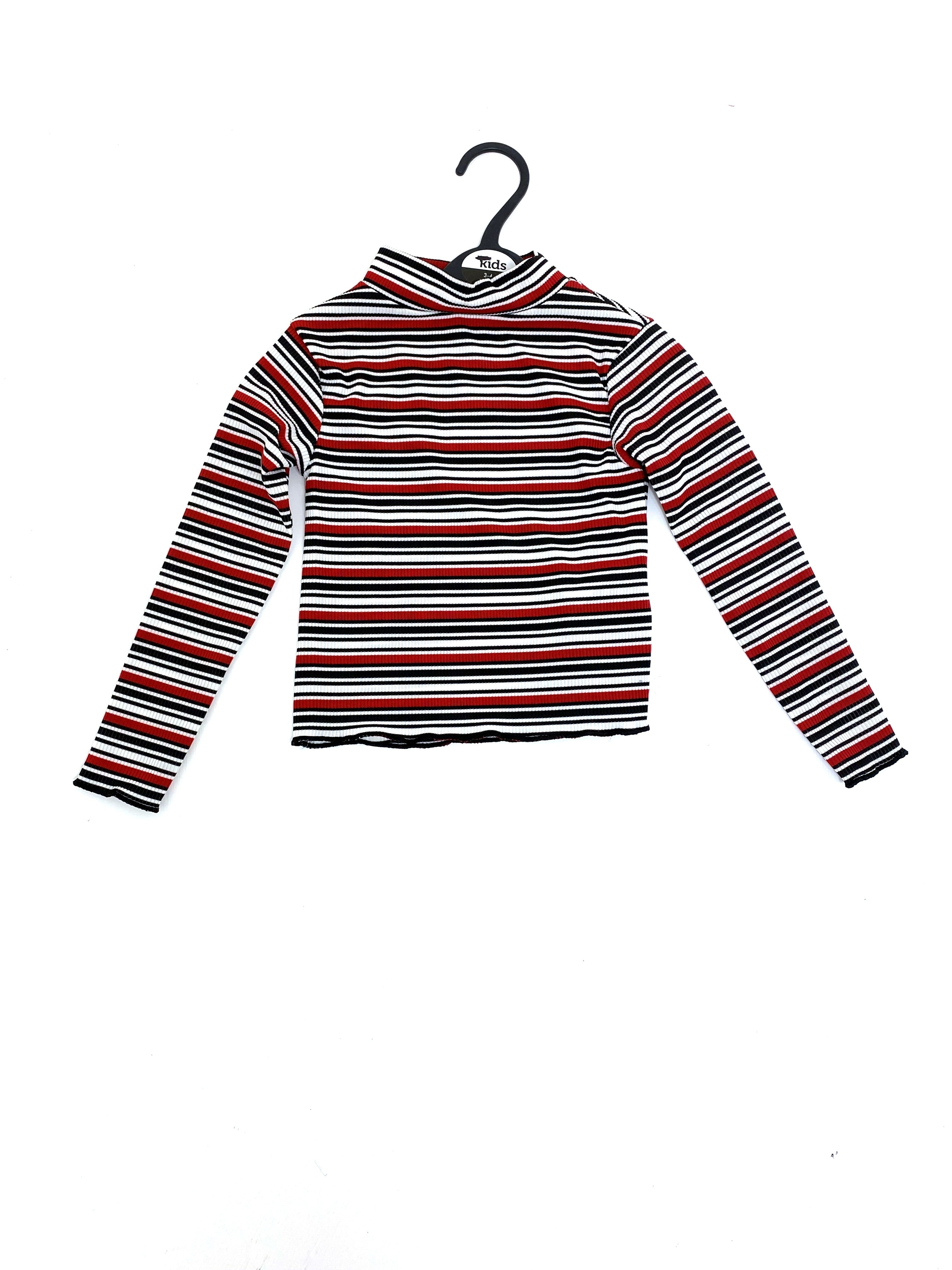 Ex Store Girls Striped Top PACK OF 5