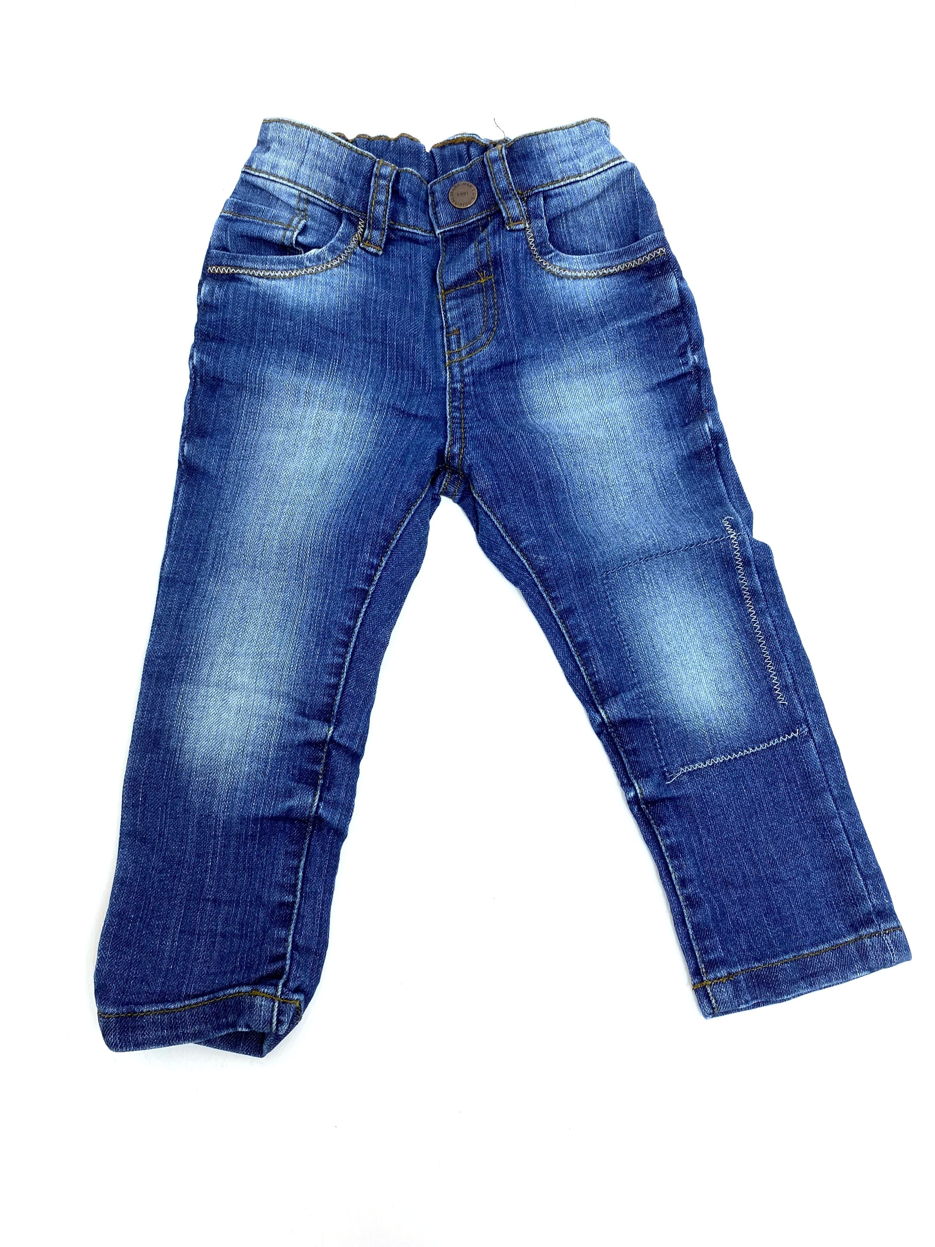 Ex Store Baby Boys Denim Blue Jeans PACK OF 6