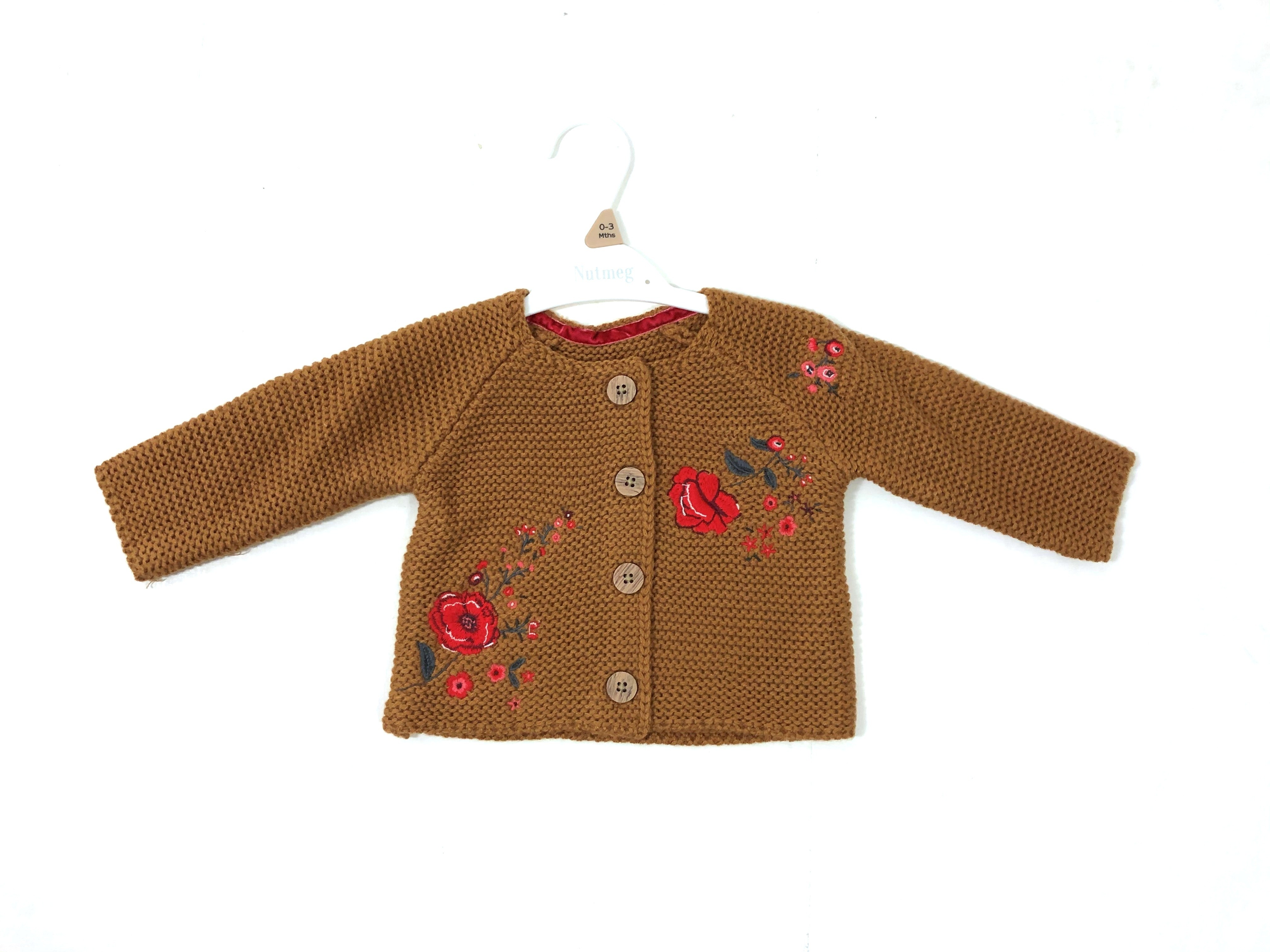 Ex Store 'Floral' Baby Girls Cardigan PACK OF 8