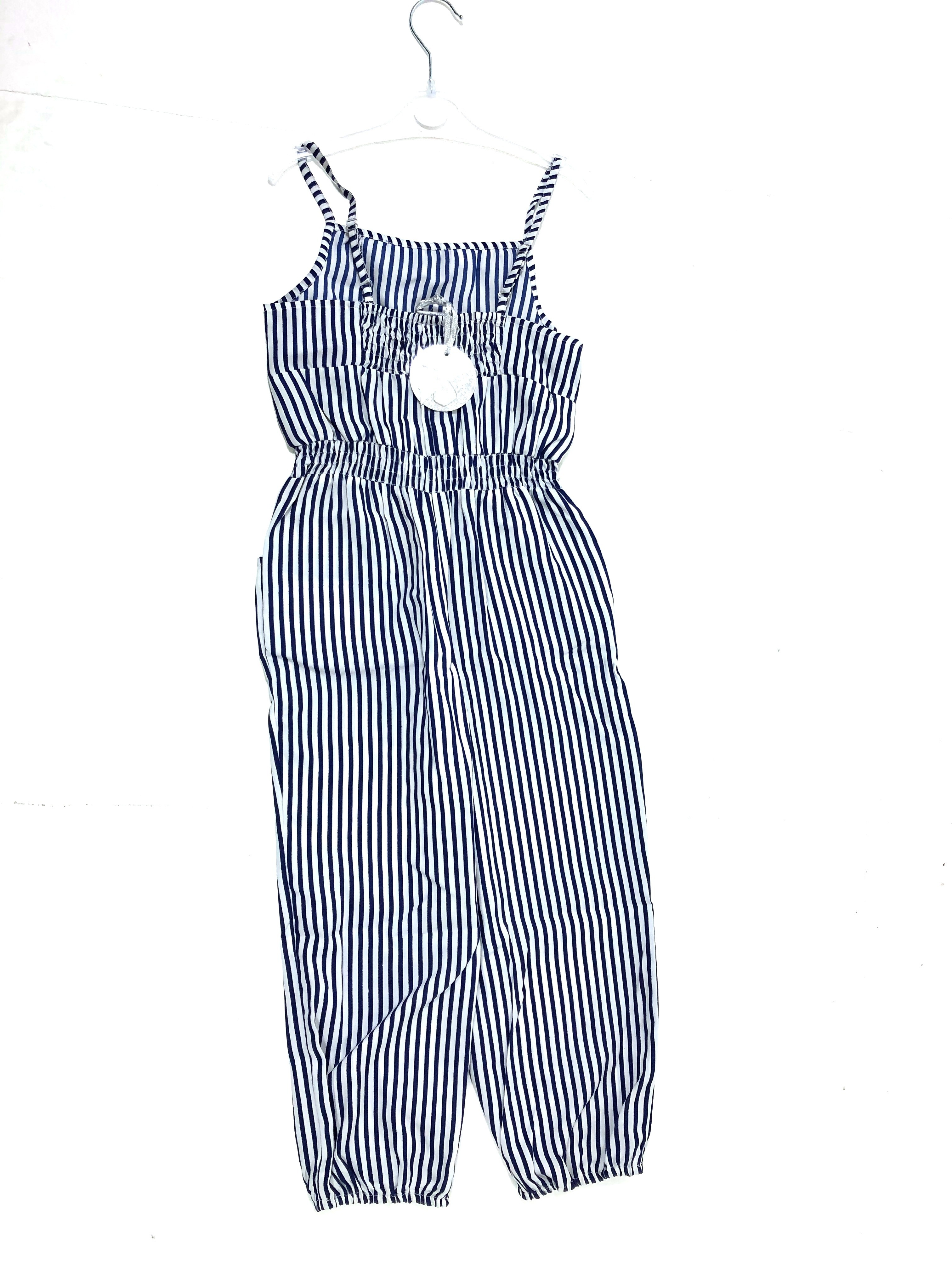 Mini Moi Multi Striped Girls Playsuits PACK OF 8
