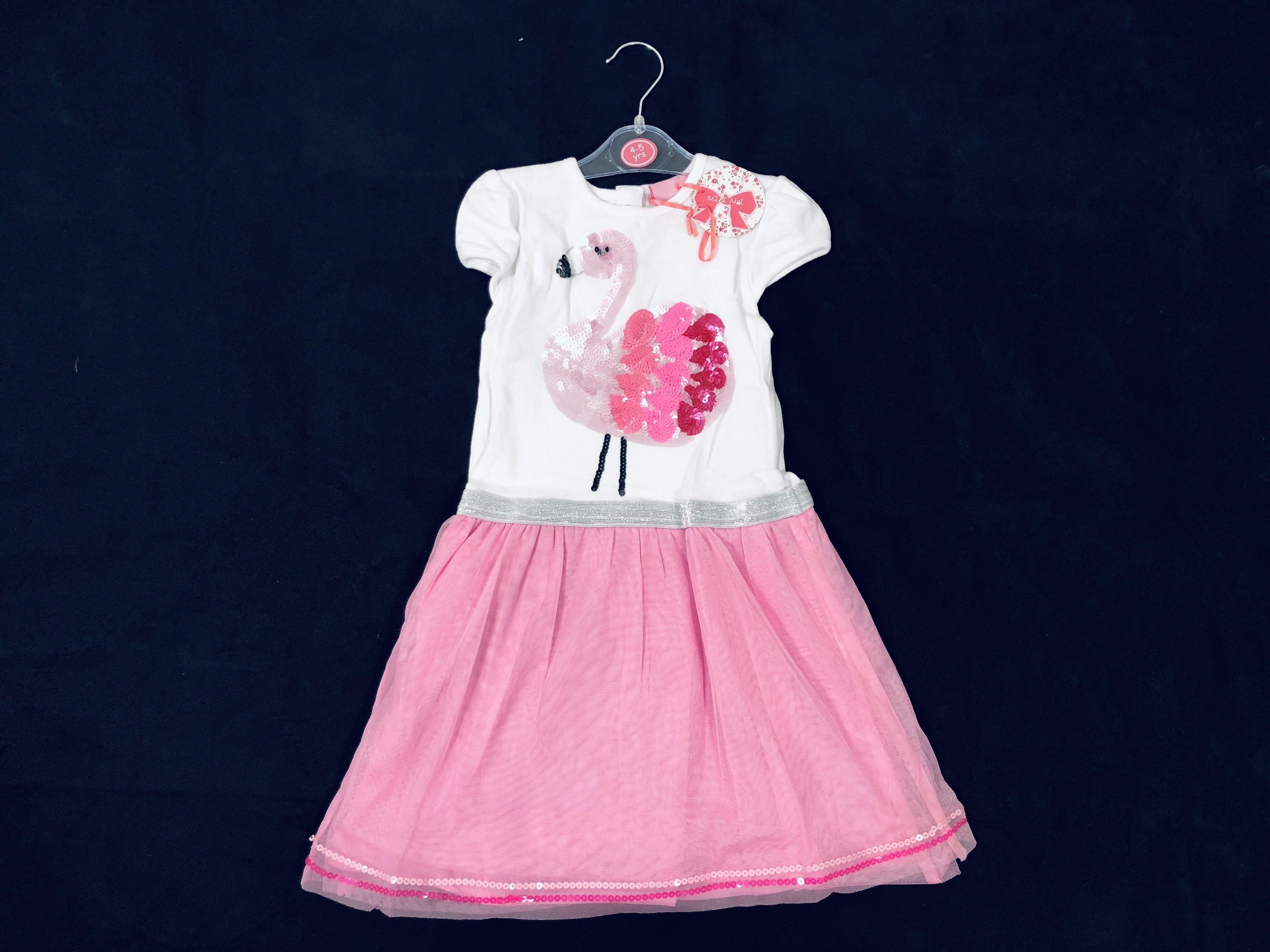 Mini Moi 'Flamingo' Girls Dress PACK OF 6