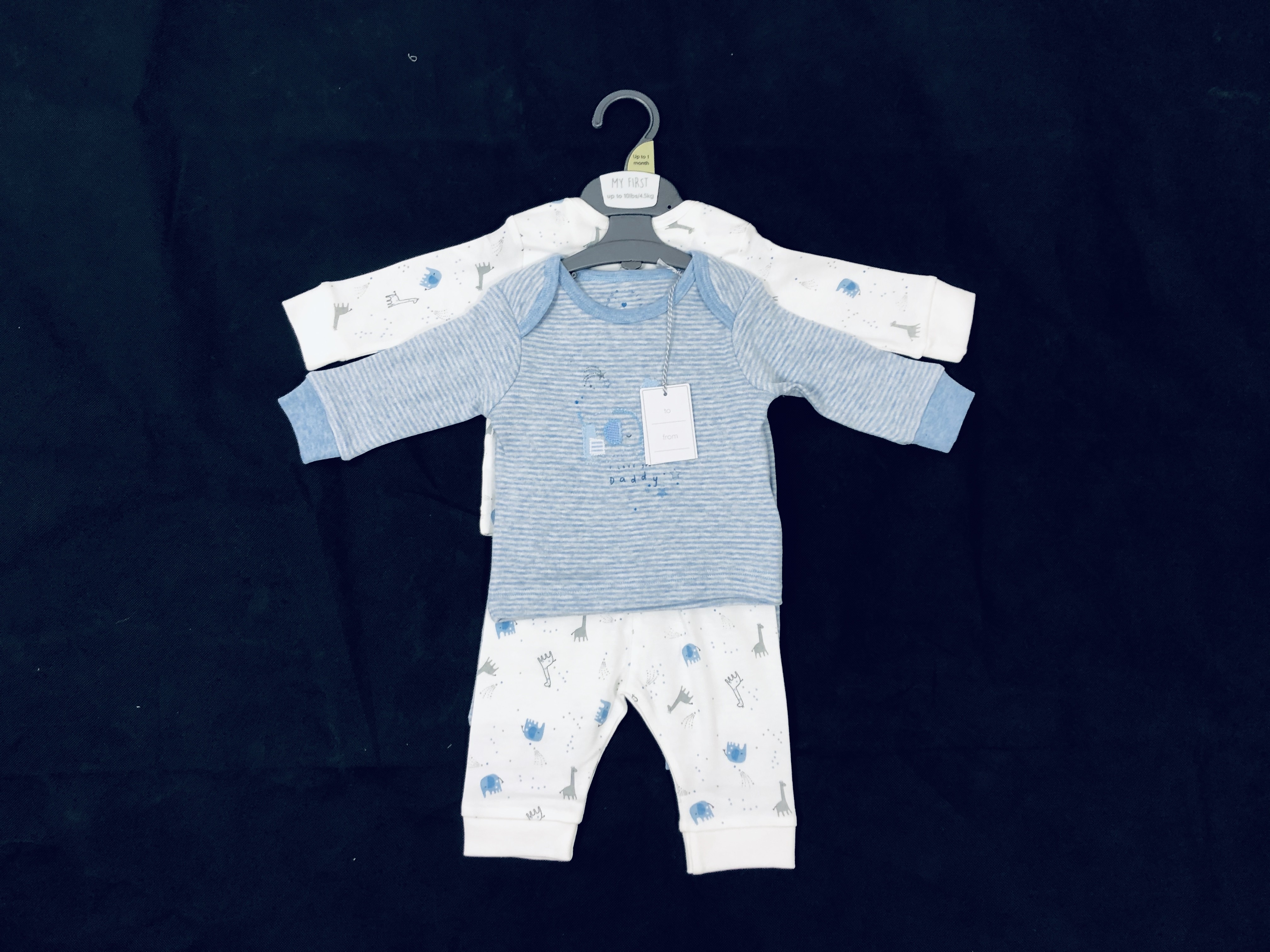 Mothercare 2 Pack of Baby Boys Pyjamas PACK OF 7