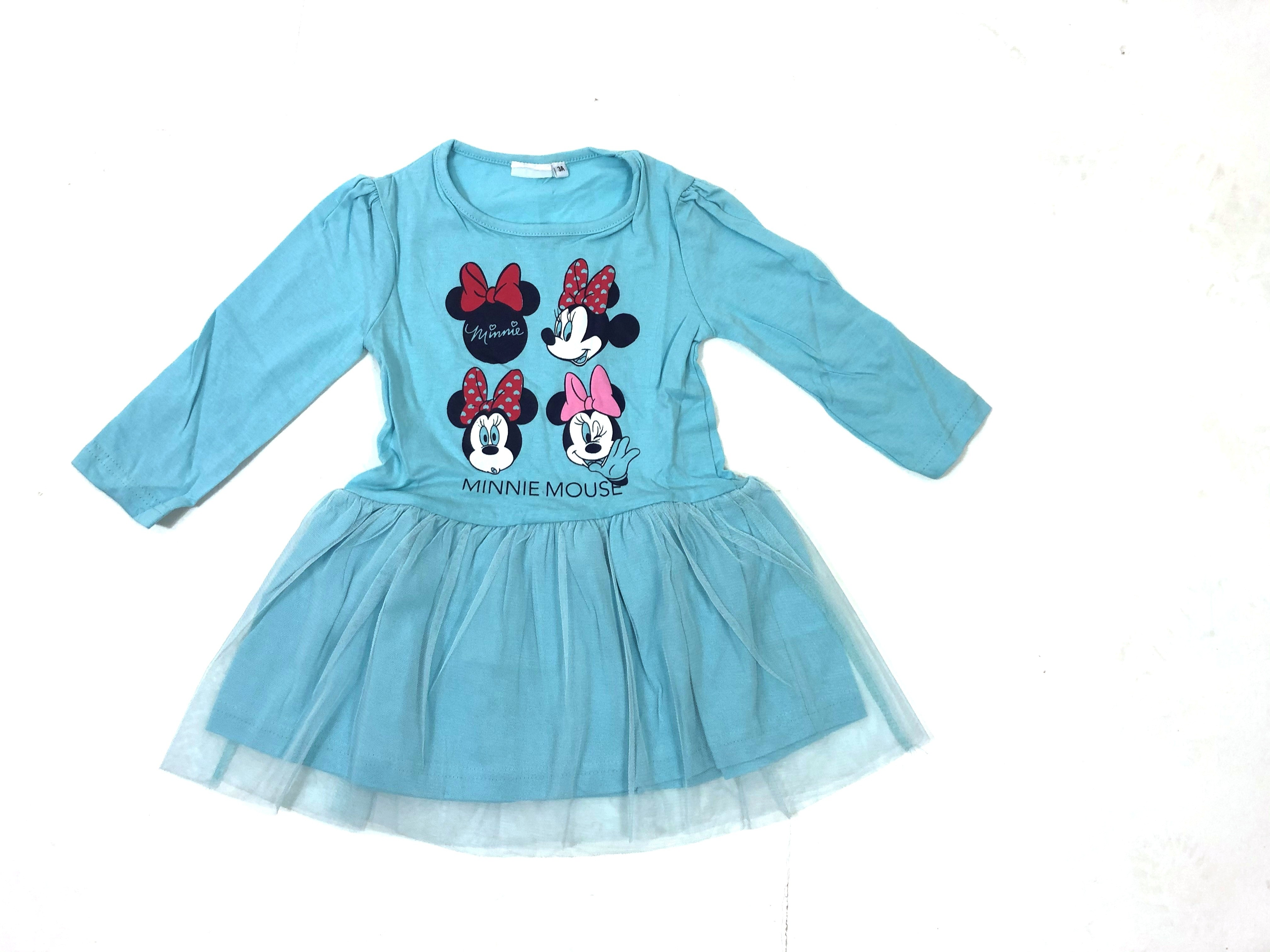 Disney 'Minnie Mouse' Girls Blue Dress PACK OF 8