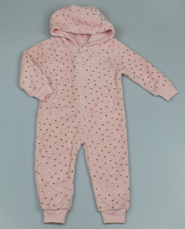 Jam Jam 'Stars' Girls Fleece Onesie PACK OF 6