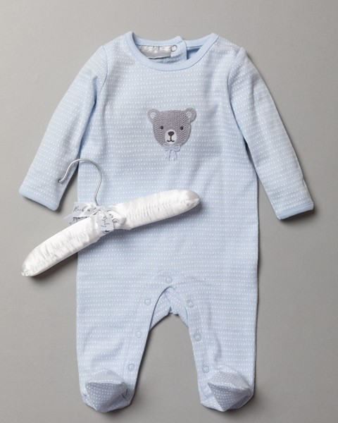 Rock a Bye Baby Boutique 'Teddy' Baby Boys Sleepsuit PACK OF 6