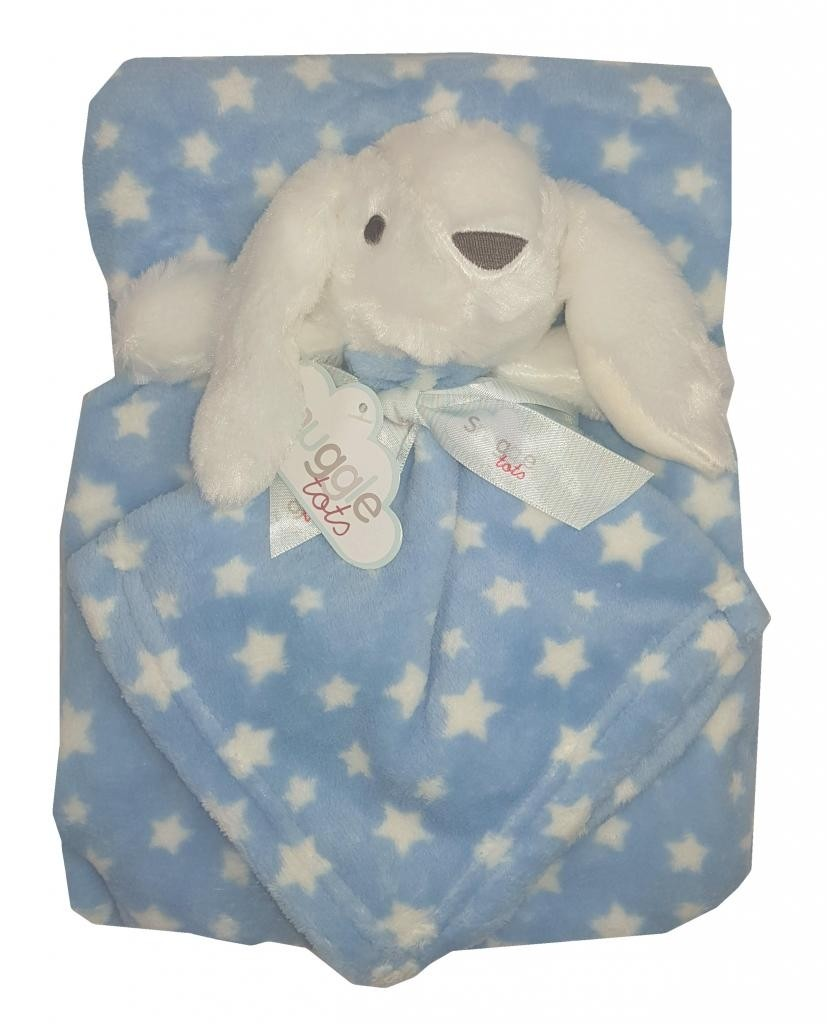 Snuggle Tots Baby Boys Blanket with Comforter PACK OF 6