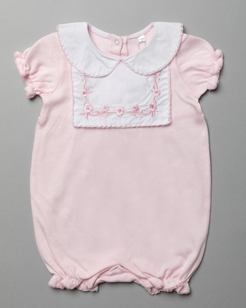 Rock a Bye Baby Boutique Baby Girls Pink Romper PACK OF 6