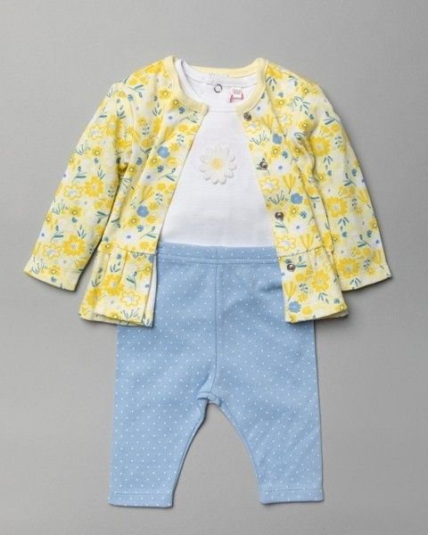 Mini Moi Baby Girls 3 Pieces Set PACK OF 6