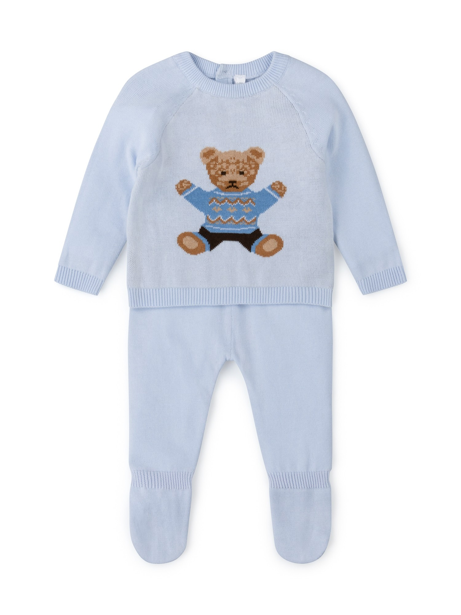 Rock a Bye Baby Boutique Baby 'Bear' Boys Knitted Set PACK OF 6