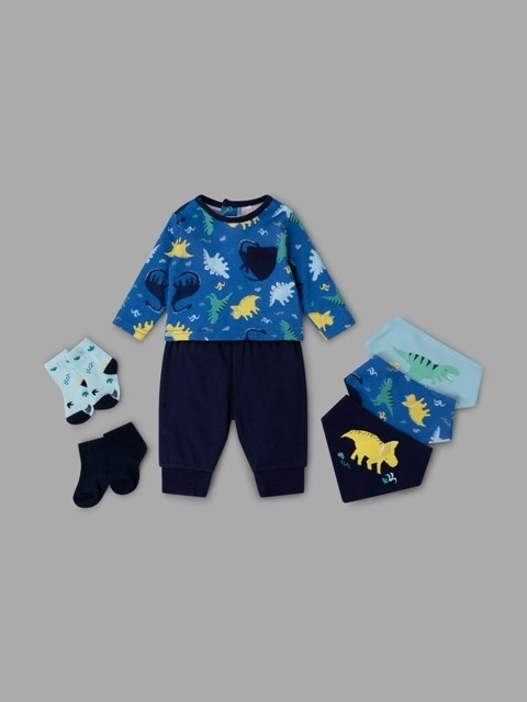 Lily & Jack 'Dinosaur' Baby Boys 7 Pieces Set  PACK OF 4