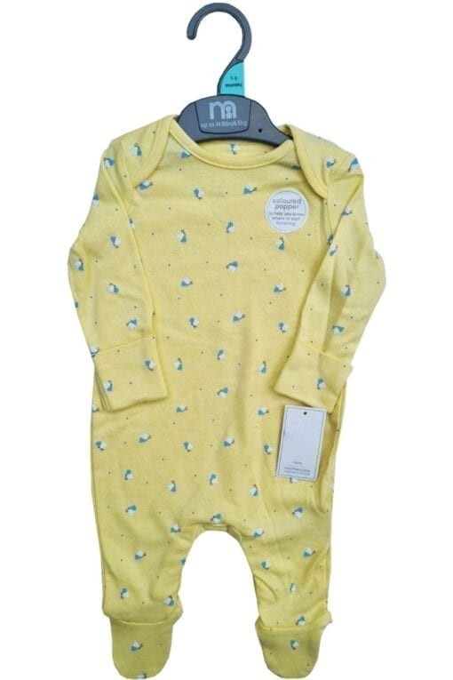 Mothercare 'Butterfly' Baby Girls Sleepsuit PACK OF 11
