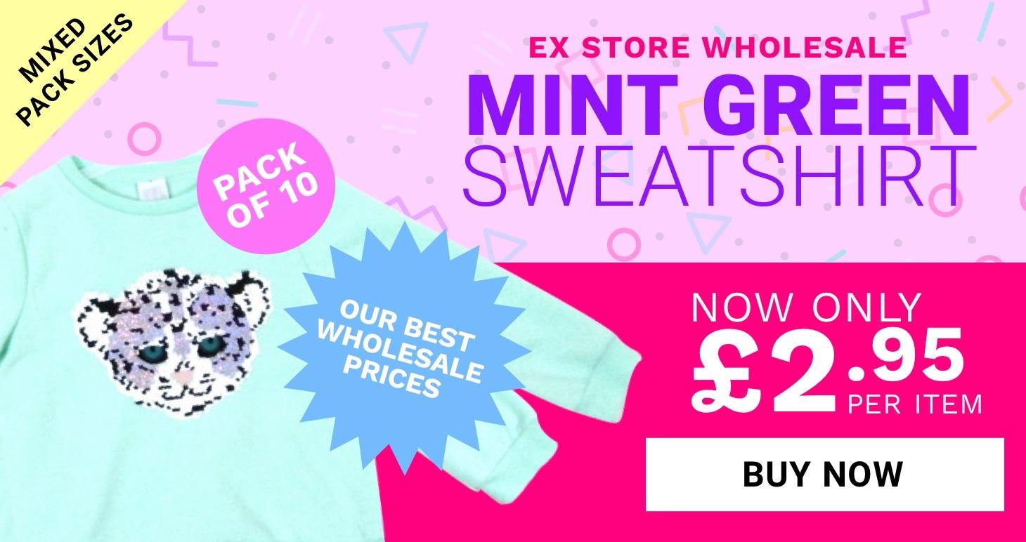 Mint Girls Sweatshirt