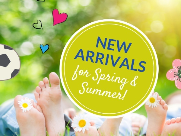 Check out our new arrivals for Spring/Summer 2018!