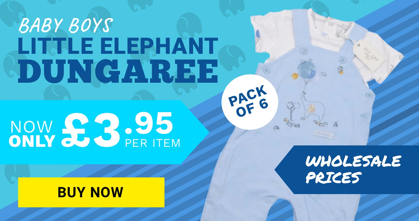 Little Elephant Dungaree