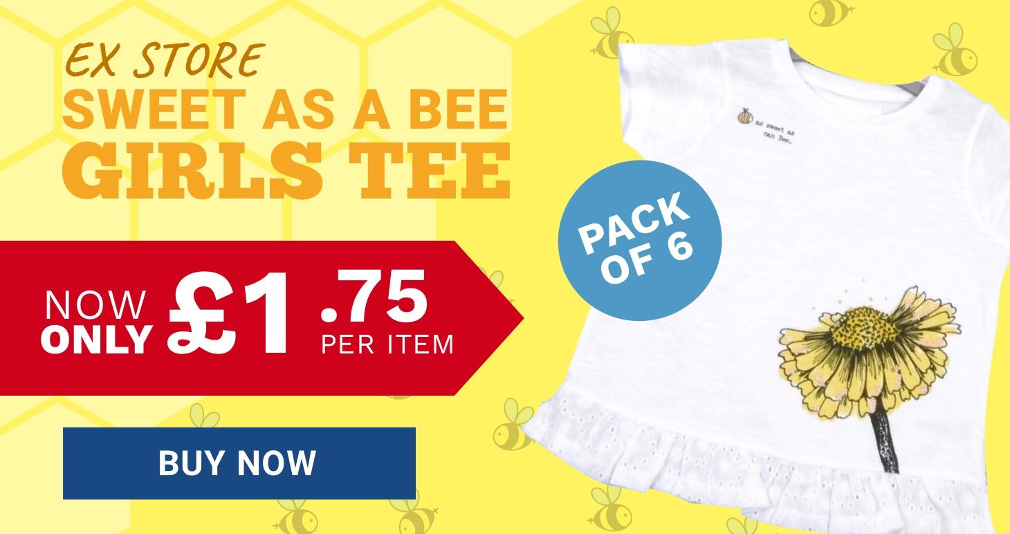 Girls wholesale tshirt