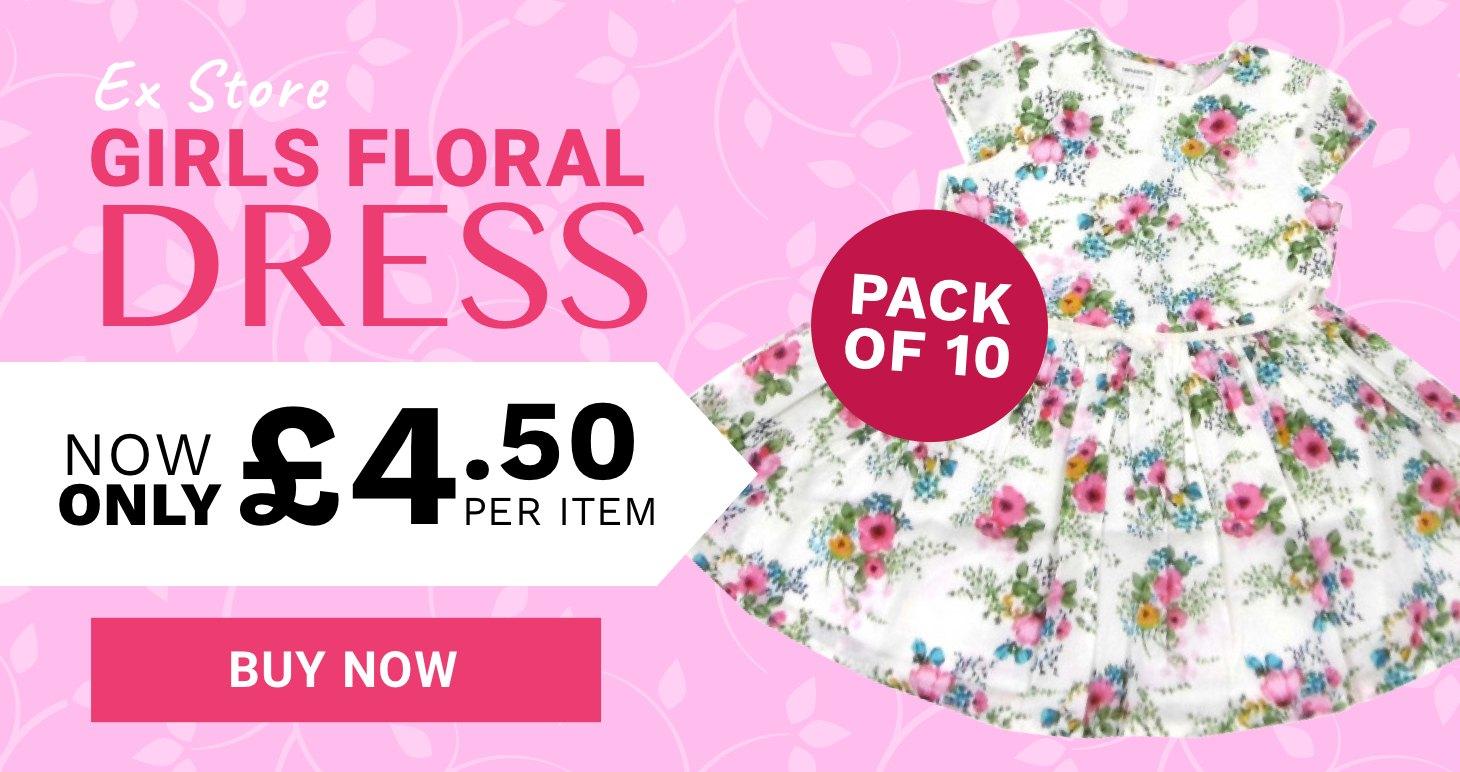 Wholesale floral dress