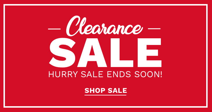 Clearance Sale Hurry Sale Ends Soon